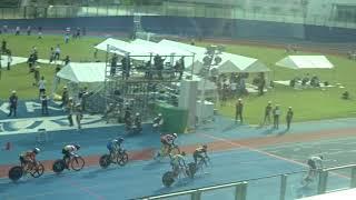 第72回国民体育大会・自転車競技会/少年男子・スクラッチ(10km)決勝、1着:細中翔太(岡山)