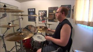 Under The Covers - Whitesnake - Here I Go Again DRUM COVER / The Drum Show