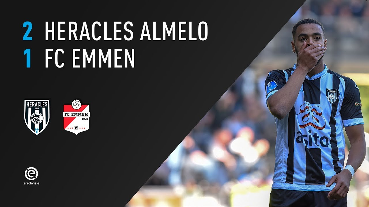 Heracles Almelo - FC Emmen | 30-09-2018 | Samenvatting