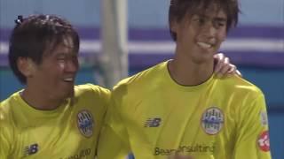 2018年7月7日(土)に行われた明治安田生命J2リーグ 第22節 横浜FCvs...
