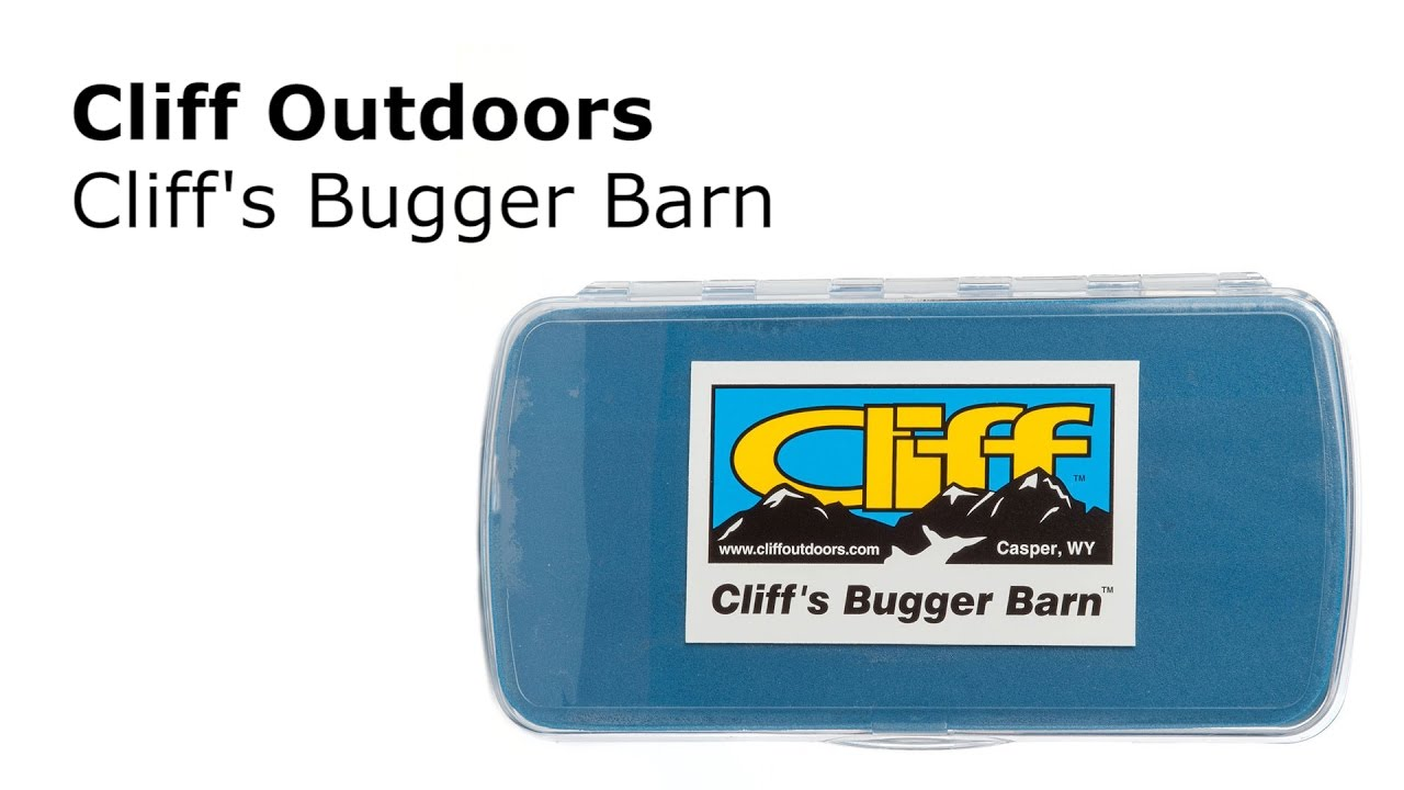 Cliffs Bugger Barn Fly Box