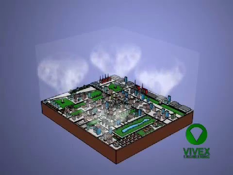 Air Pollution solution Purify smog Clean Air PM2,5 MCAC Modular City Air Cleaner vivexengineering