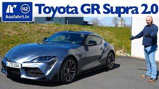 2020 Toyota GR Supra 2.0 - Kaufberatung, Test deutsch, Review, Fahrbericht Ausfahrt.tv
