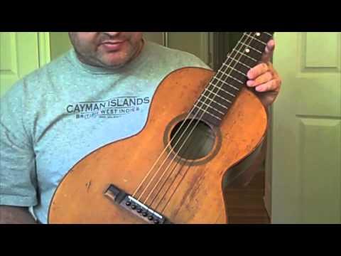 Lyon & Healy Marquette Antique Parlor Guitar Tour