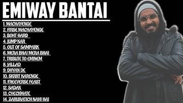 JUKEBOX : EMIWAY BANTAI BEST RAP SONGS   MACHAYENGE, FIRSE MACHAYENGE, BOHT HARD   DRAGON MUSIC