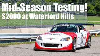 Mid-Season Testing! S2000 at Waterford Hills 1:19.0