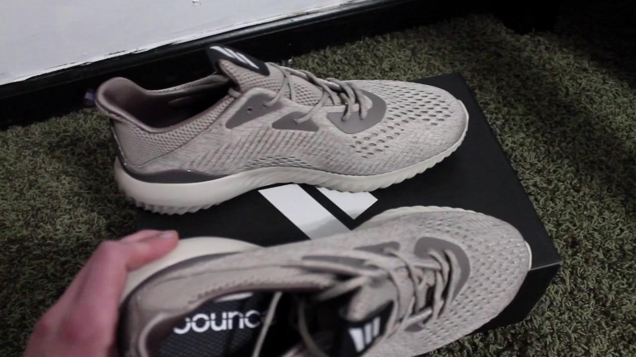 Adidas alpha bounce beige