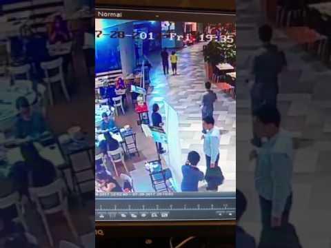 Modus pencurian tas di salah satu mall