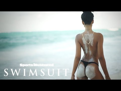 Chanel Iman Bares All & Poses With A Python In Zanzibar  Intimates  Sports Illustrated Swimsuit