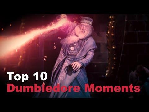 Top 10 - Dumbledore Moments