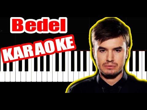 Mustafa Ceceli - Bedel - KARAOKE - PIANO TUTORIAL by VN