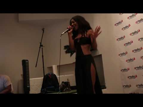 Gia Vonet'''' (@Giavonet) Performs at Direct 2 Exec Artist Experience Los Angeles 4/16/17