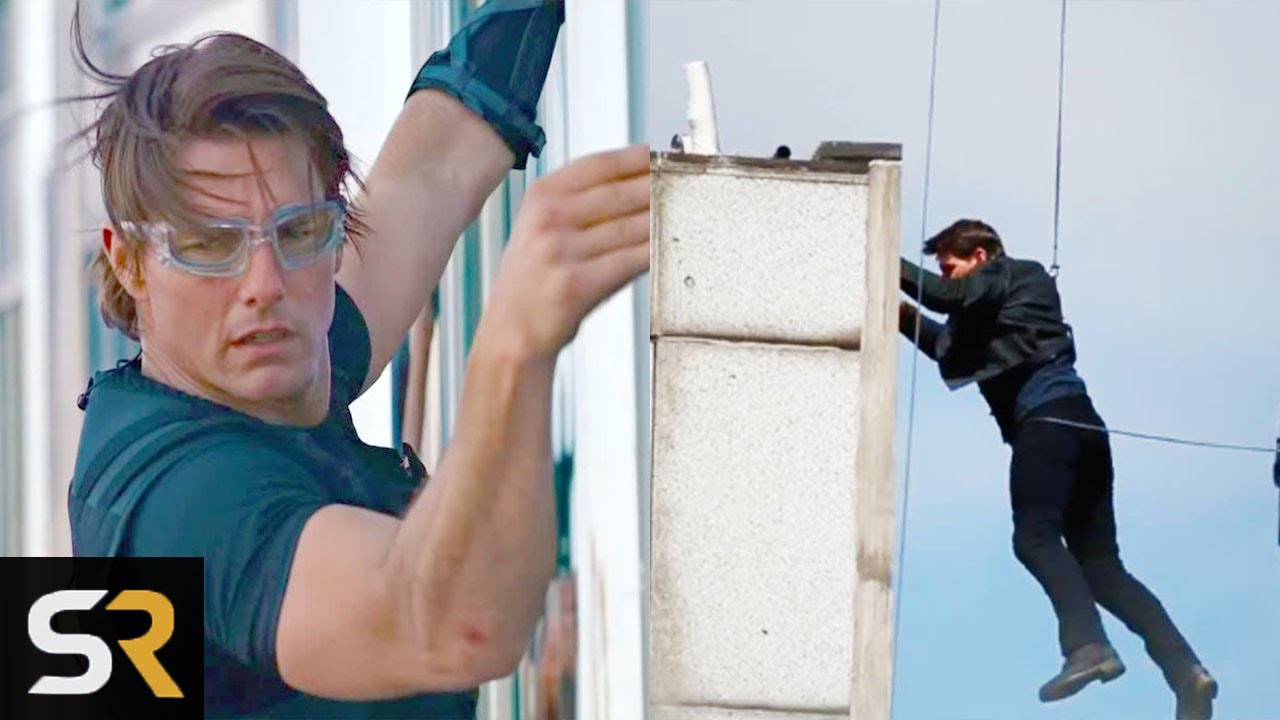 10 Most Insane Movie Stunts Tom Cruise Has Done