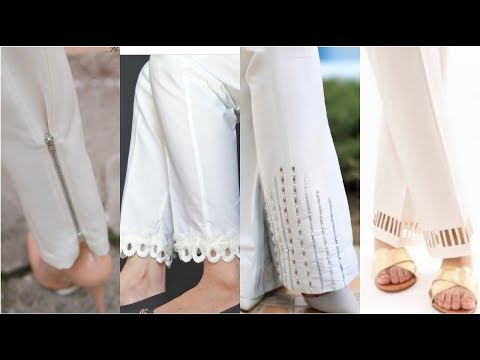 Very Latest & Stylish Easy To Make Trousers Designs Ideas / Trendy & Demanding Designers Designs