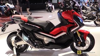 2017 Honda X-ADV 750 Maxi Scooter - Walkaround - Debut at 2016 EICMA Milan