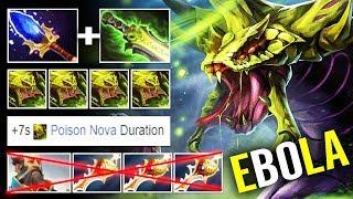 EPIC PRO Venomancer DELETED x3 Divine Kunkka - Move Speed Slow 100% Dota 2
