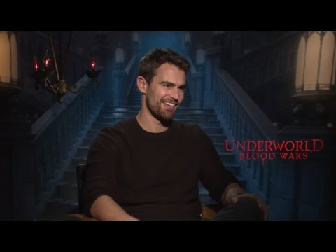 Theo James interview says jokingly he says himself in rehab in ten years.