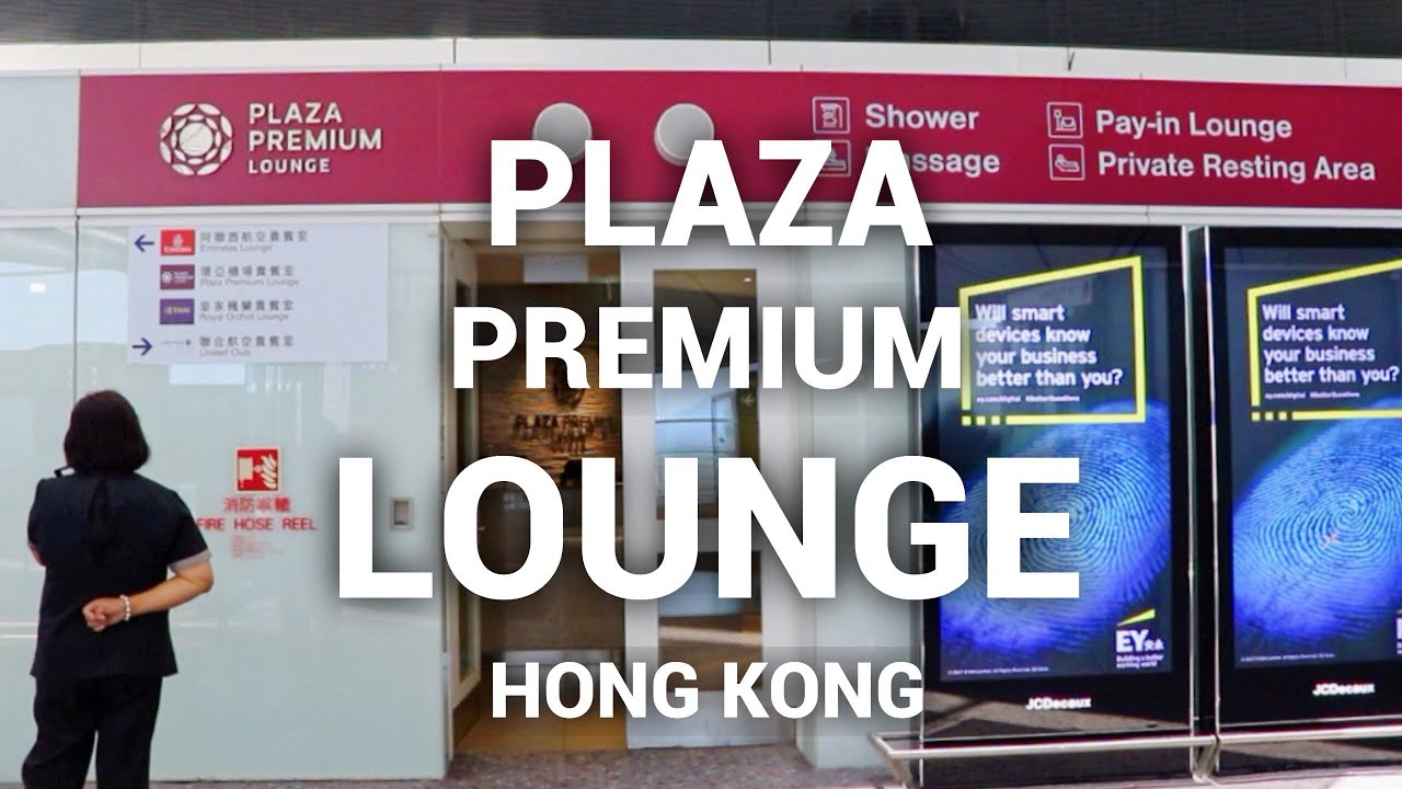 Plaza Premium Lounge In Hong Kong Priority Pass Youtube