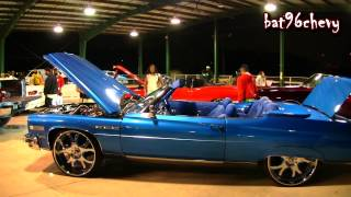 "Candy Blue 1975 Buick LeSabre Convertible on 26"" Asantis - 1080p HD"