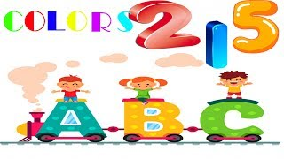 Nursery Rhymes & kids songs Learn abc's, colors & numbers through funny songs for babies