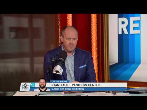 The Panthers Ryan Kalil Explains Why He Trolled Cam Newton with a Parody Video - 6/5/17