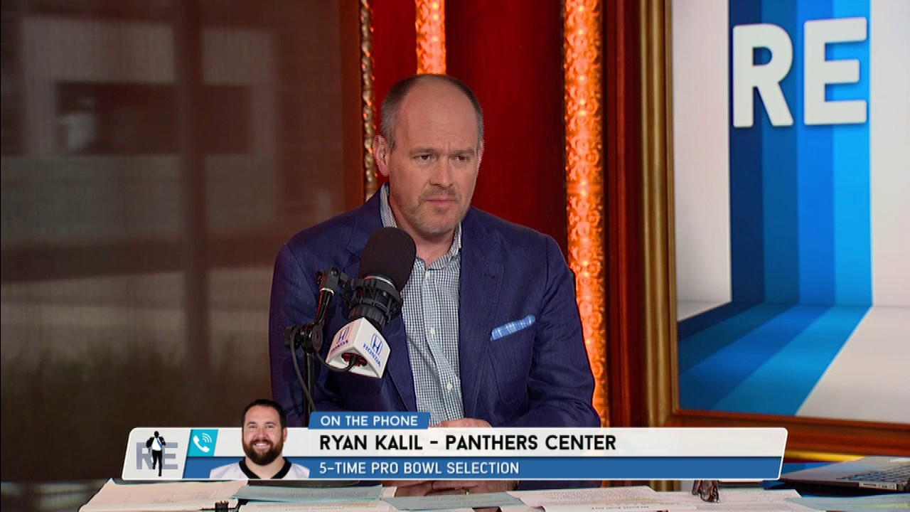The Panthers Ryan Kalil Explains Why He Trolled Cam Newton with a