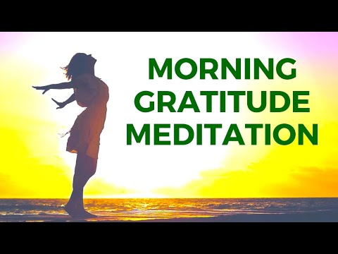 Morning GRATITUDE Meditation Guided | Best 12 Minutes