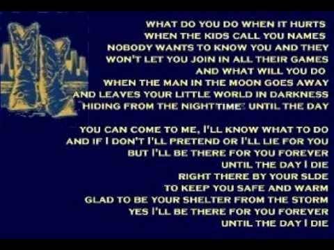 Jimmy Nail - Until The Day I Die ( + lyrics 1996)