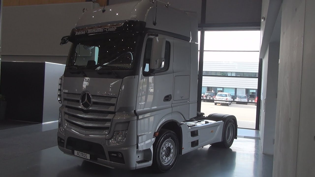 Actros Facelift 2018 >> Mercedes-Benz Actros 1851 Style-Line Tractor Truck (2018) Exterior and Interior - YouTube