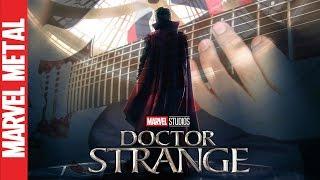 Doctor Strange Theme Song Marvel Guitar Cover (Strange Days Ahead) | Javier Bustacara