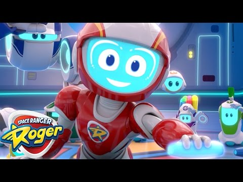 Space Ranger Roger | Episode 5 - 8 Compilation | Cartoons For Kids | Funny Cartoons For Children