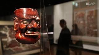 地獄を描いた仏教美術を集めた特別展「地獄絵ワンダーランド」(産経新...