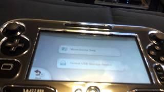 External hard drive on the Wii U!