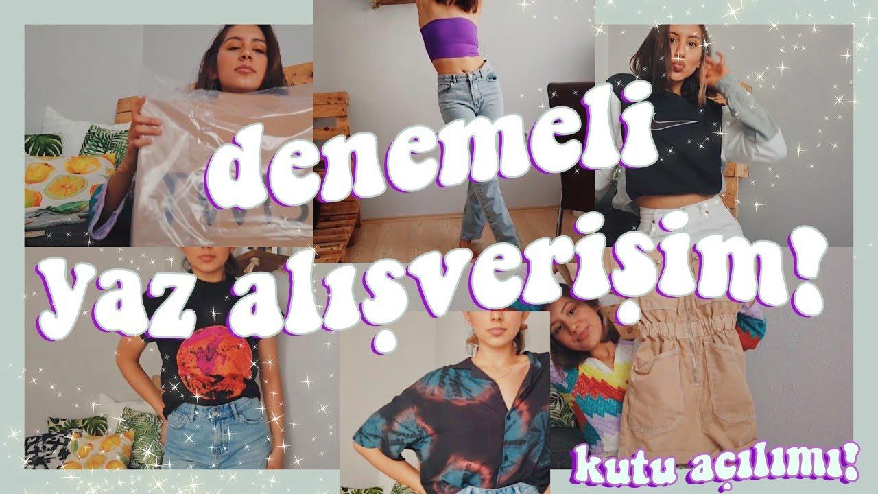 SAKIN HESAPLAMAYIN!! GÜNCEL DENEMELİ YAZ ALIŞVERİŞİM! (Twist, Bershka, P&B...) #clothinghaul #haul
