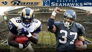 The Questionable Drop at Qwest Field! (Rams vs. Seahawks 2004 NFC Wild Card) | NFL Vault Highlights