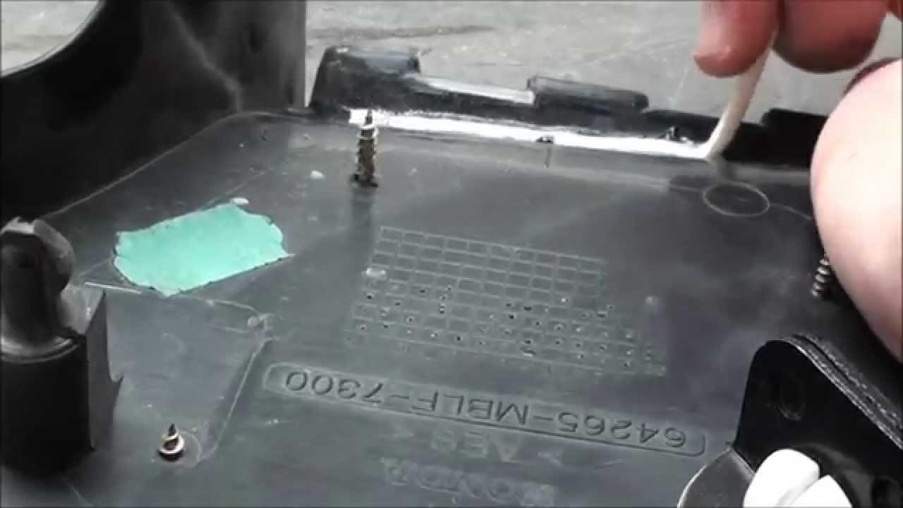 dbdb2ef4b810 Honda AES műanyag hegesztése ABS pálcával - YouTube