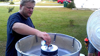Chip Foose Makes Cotton Candy With The Tornado Cotton Candy Machine!