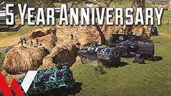 Five Years of PlanetSide 2