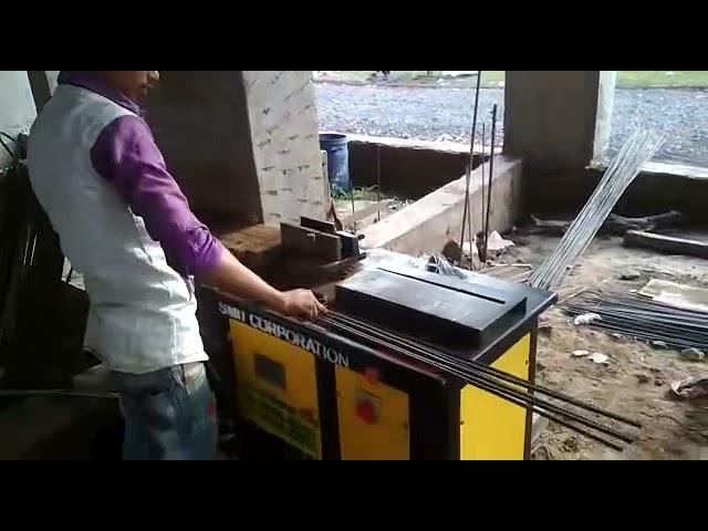 Semi Automatic Stirrup Ring making machine - PADEL TYPE