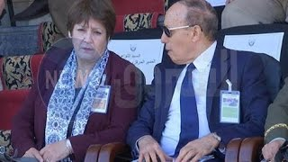 بالفيديو.. نورية بن غبريط رفقة رئيس المخابرات الجزائرية  بشير طرطاق