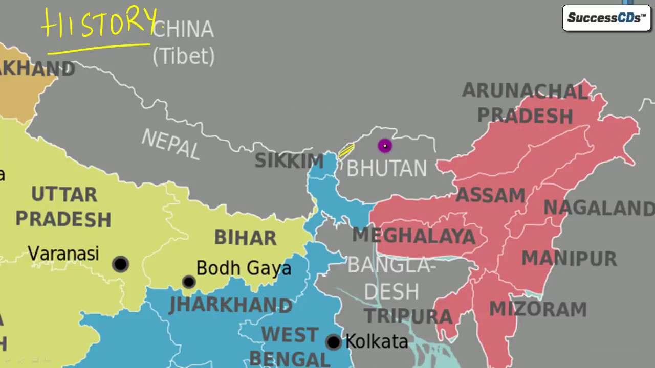 All about Doklam Standoff between China India explained - Latest GK Current  Affairs