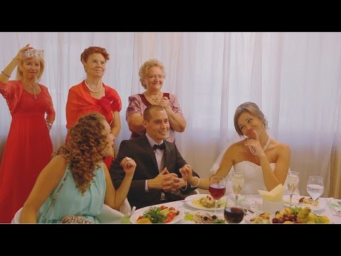 Лучшее поздравление на свадьбу от родителей - Лучшие приколы. Самое прикольное смешное видео!