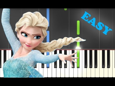 Let it go (Frozen) | EASY Piano Tutorial by Betacustic