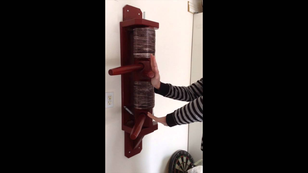 Wing Chun Recoil Wall Hanging Dummy Youtube