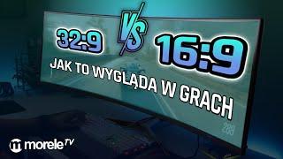 32:9 vs 16:9 - Jak to wygląda w GRACH? | GTA V, Wiedźmin 3, CS:GO, Forza Horizon, Overwatch