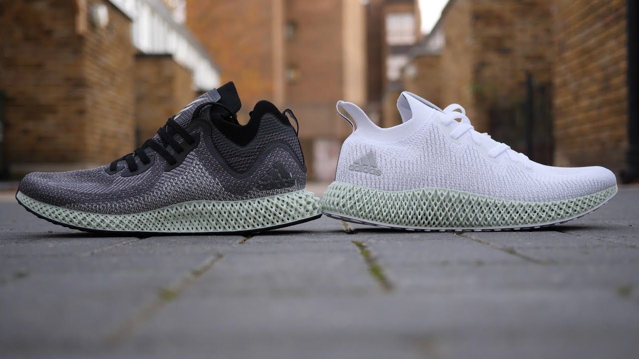 c145279c8287ca CHEAPEST 4D... But Which Is Better  Adidas AlphaEdge 4D  White  vs  Ash