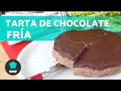 Cómo hacer un PASTEL DE CHOCOLATE FRÍO 🎂 ¡Fácil y Delicioso!