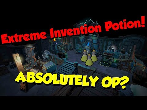 Extreme Invention Potions are Overpowered! [Runescape 3] New Potion!