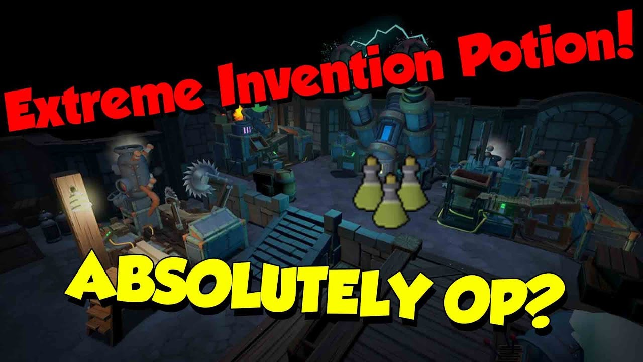 Extreme Invention Potions are Overpowered! [Runescape 3] New