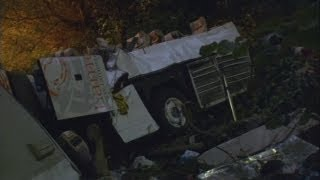 Italy coach crash leaves nearly 40 people dead